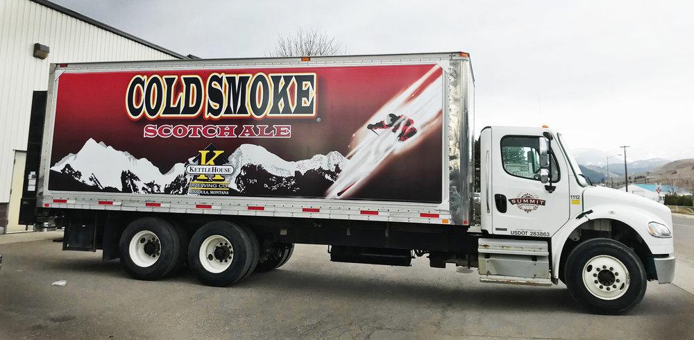 KettleHouse ColdSmoke® Fleet Graphics