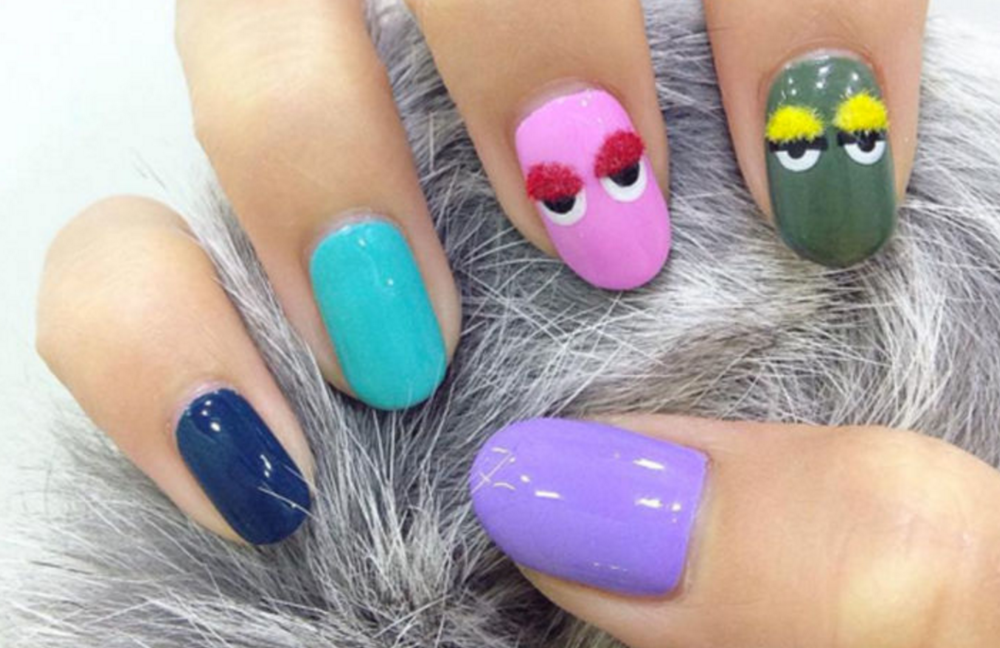 The Awkward New Nail Trend You Might Just Want To Try — Zapyle