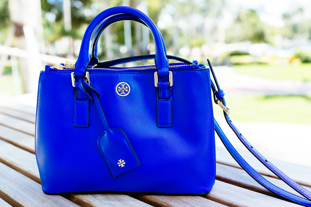 Tory Burch Robinson Micro Double Zip Tote
