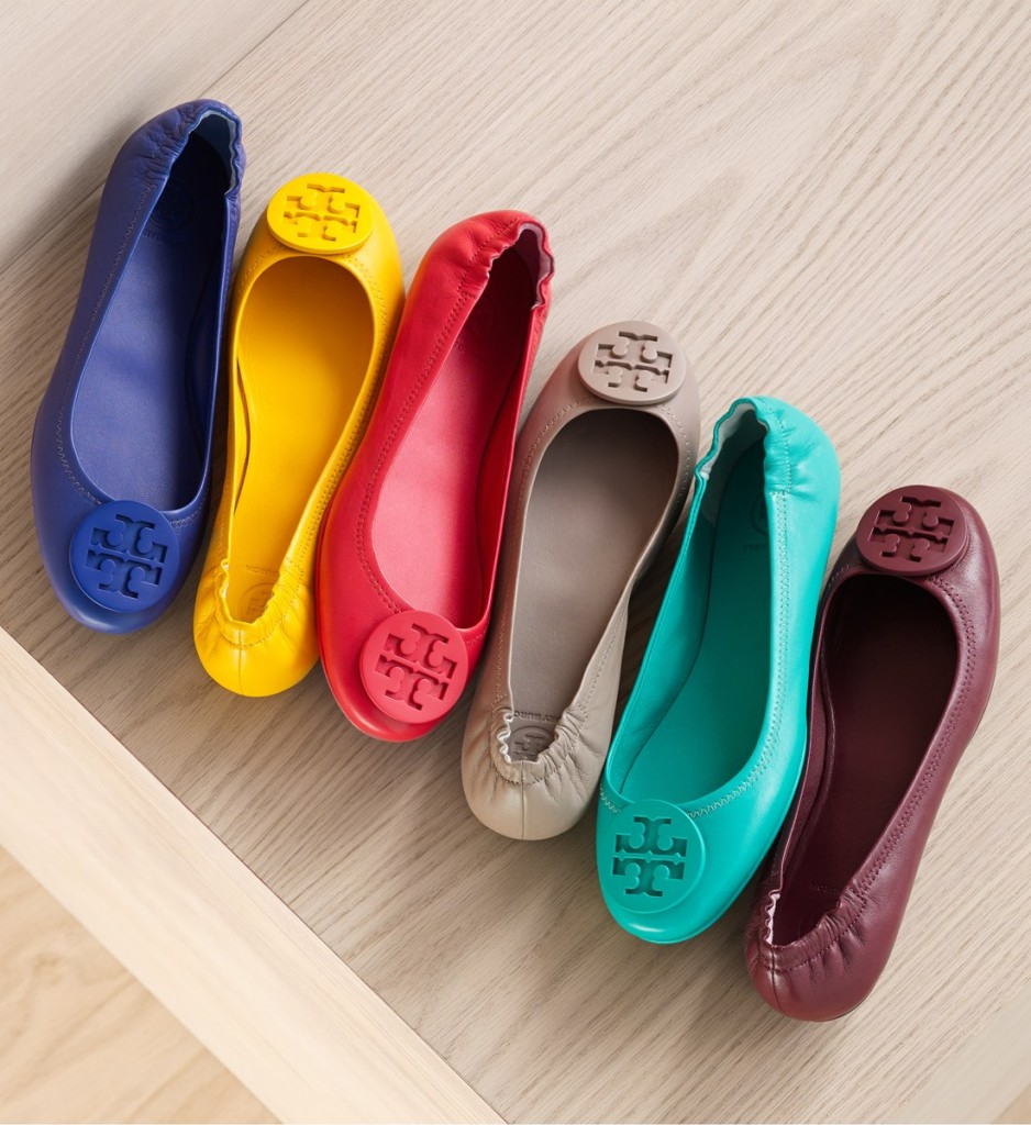 Tory Burch Flat Travel Ballerinas