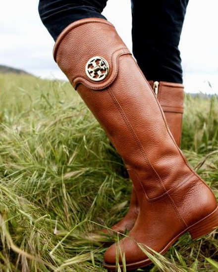 Tory Burch Selma Riding Boots