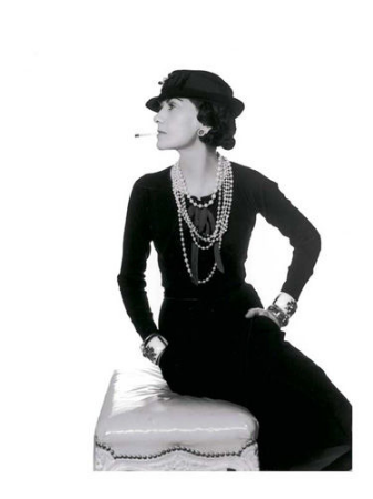 Portrait de Coco Chanel by Man Ray, 1935
