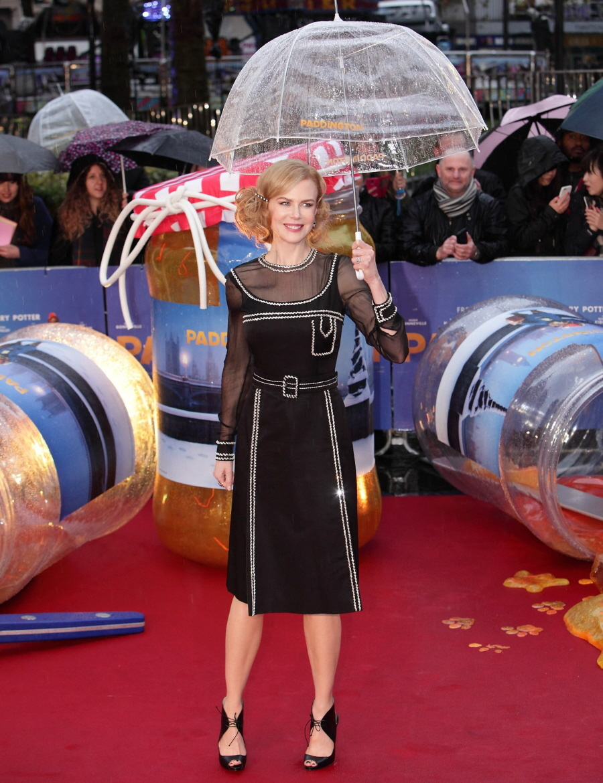 Nicole Kidman in Prada at Paddington World Premmier in 2014
