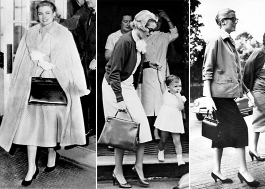 Grace Kelly with the Kelly bag