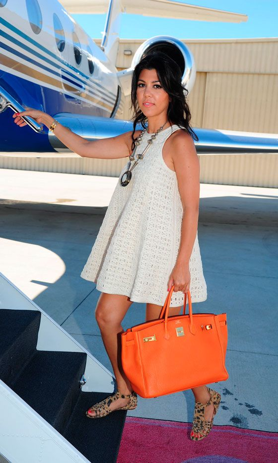The Kardashian! Orange Birkin