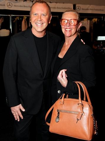 Kors and his mother,Joan Hamburger