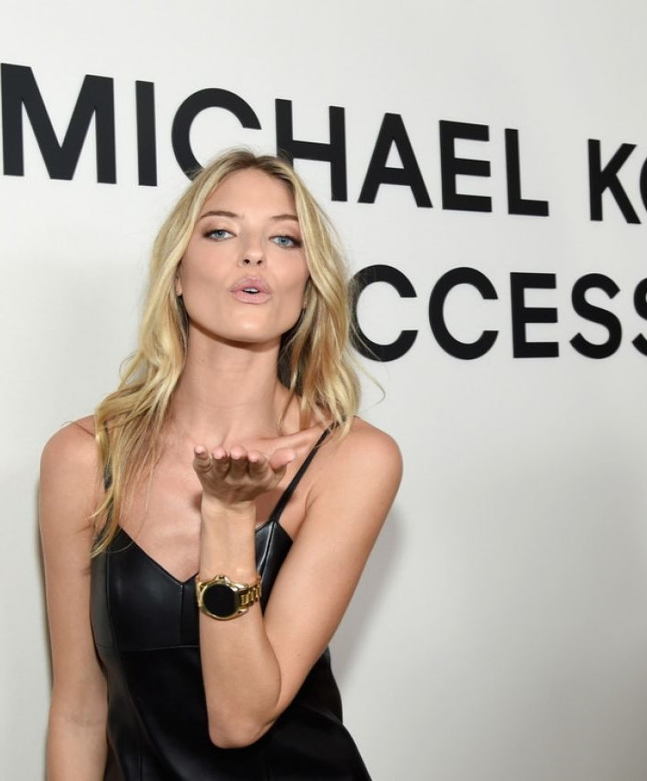 Martha Hunt at the launch party of MK's Access