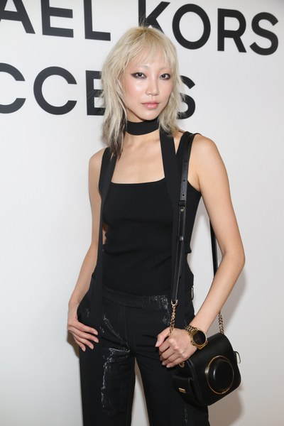 Soo Joo at the launch of MK's Access