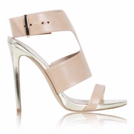 KURT GEIGER beige high heels