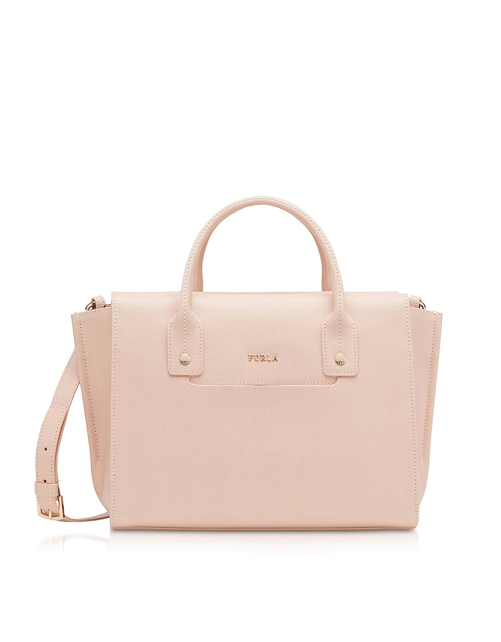 Furla Linda Magnolia Saffiano Leather Medium Carryall