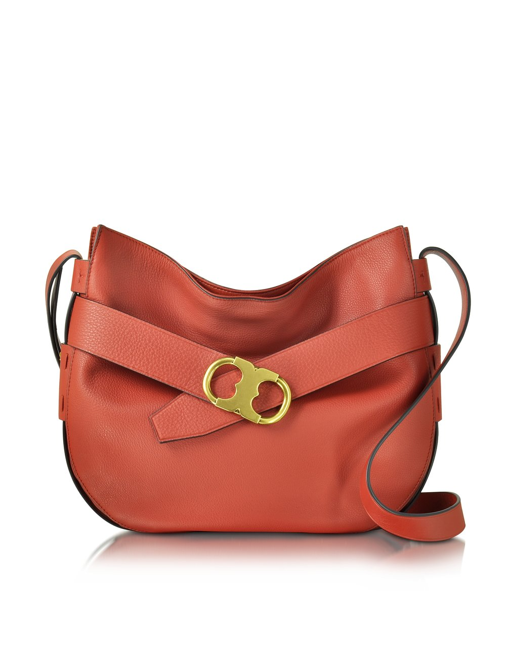 Tory Burch Gemini Link Leather Shoulder Bag