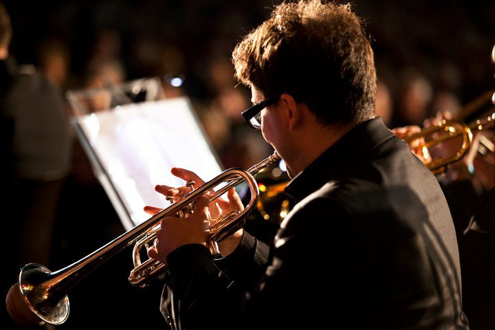 performing with European Brass Ensemble  Schagerl Brass Festival, Stift-Melk