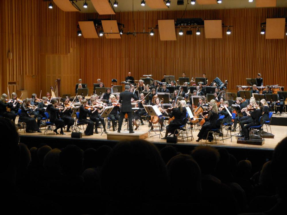Performing Shostakovich 10th Symphony Musikhögskolan Symphony Orchestra  Under Direction of Charles Hazlewood