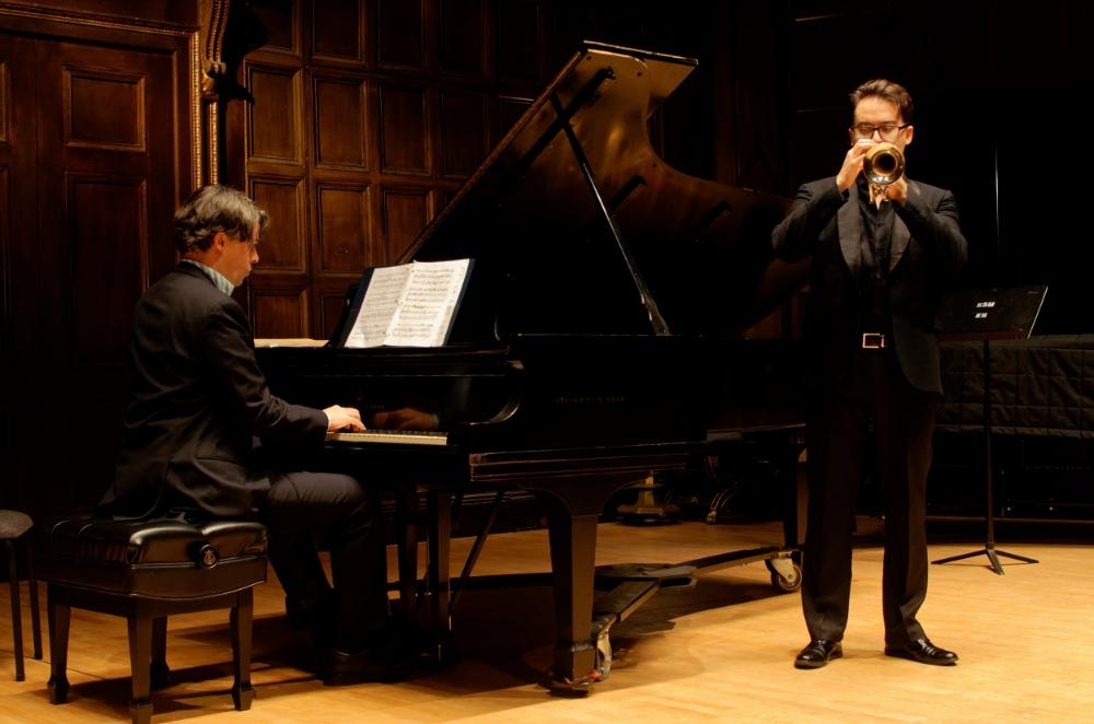 with Sébastien Cornut at Kilbourn Hall, Rochester, NY December 2015