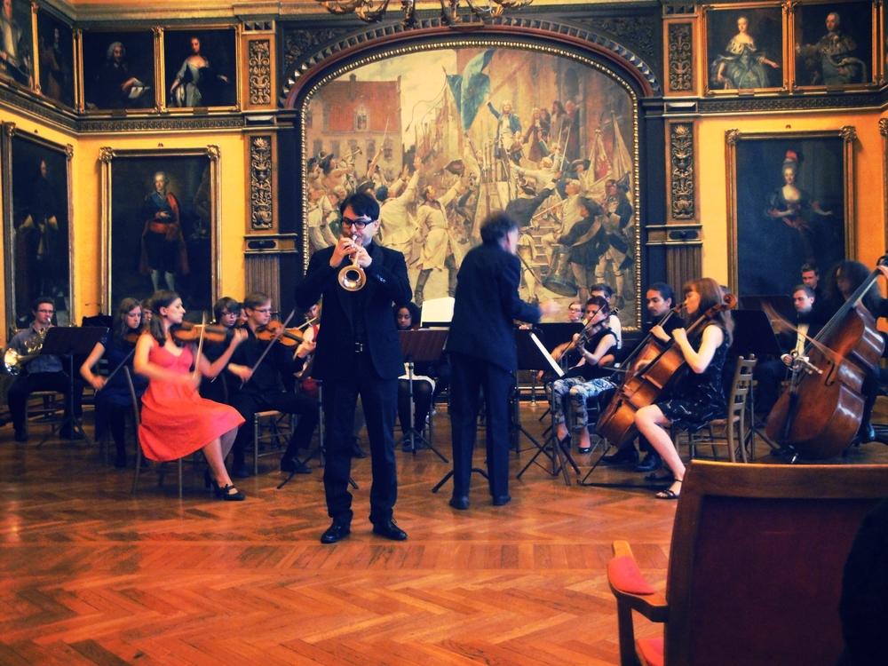 From Examenskonsert Musikhögskolan i Malmö, Sweden @ Rådhuset