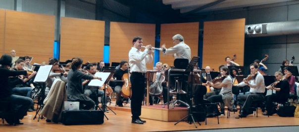 Rehearsal With Borusan Istanbul Philharmonic Under Direction Of Gurer Aykal