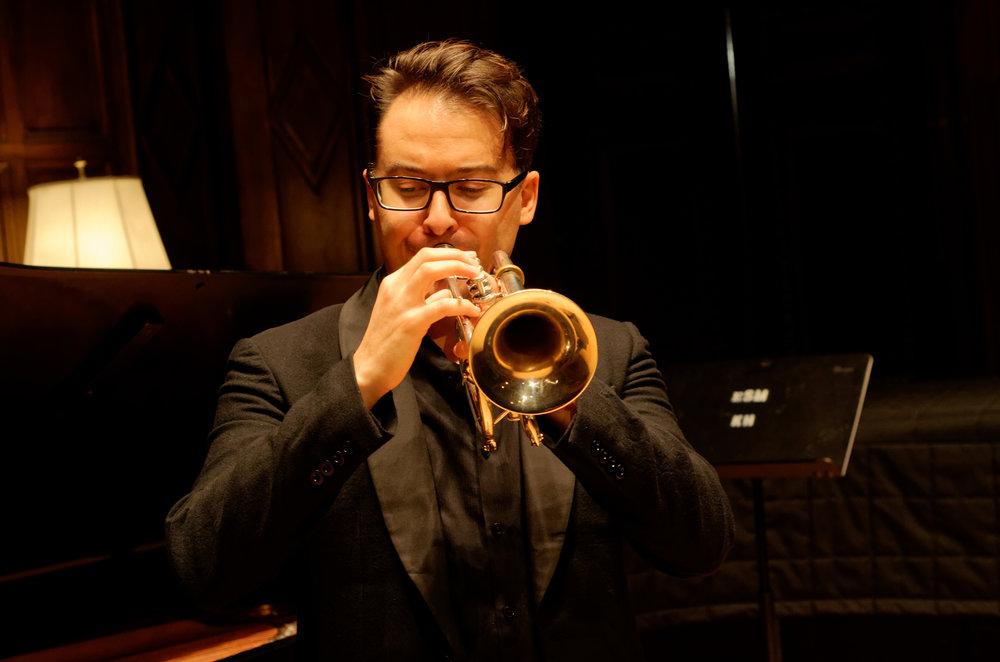 Photo by Gerry Syzmanski at Eastman School of Music Kilbourn Hall