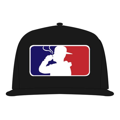 Major League Blowin  Snapback Hat (Black) — LOUD MOUTH f7c2dbbf29f