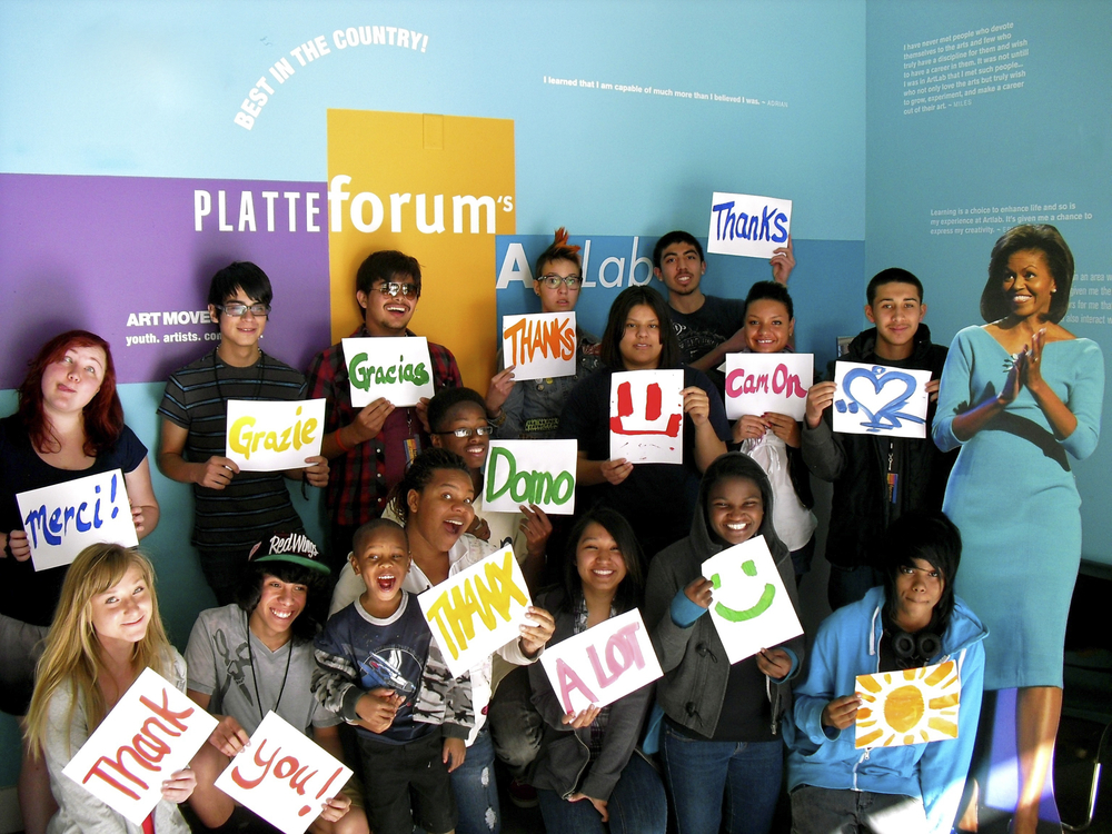 Platte Forum was honored with the 2011 National Arts & Humanities Youth Program Award.