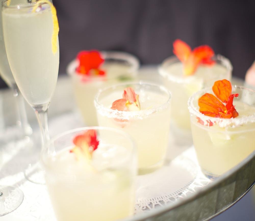 Margaritas and French 75's © Guy Ambrosino