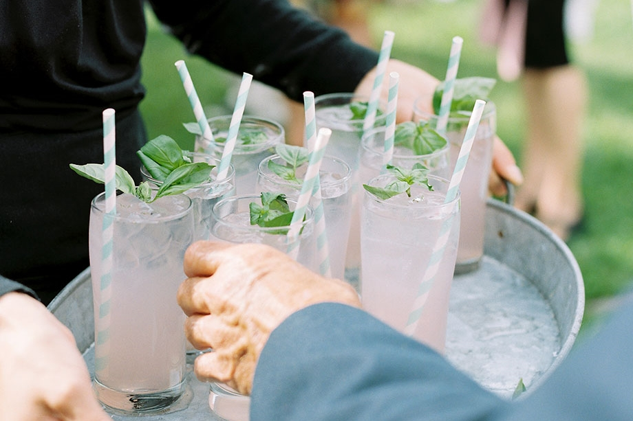 Basil Lemonade ©Sarah Der Photography