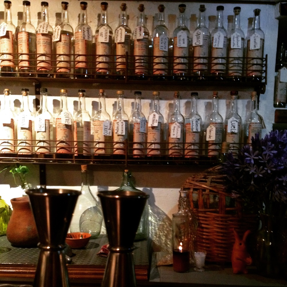 Mezcal Bar in Oaxaca City | Trillium Caterers, Belfast, Maine