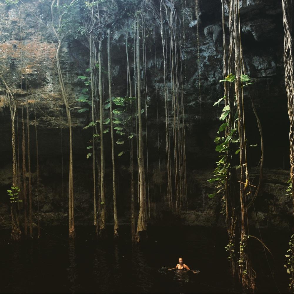 Cenote San Lorenzo Oxman, Near Valladolid  | Trillium Caterers, Belfast, Maine