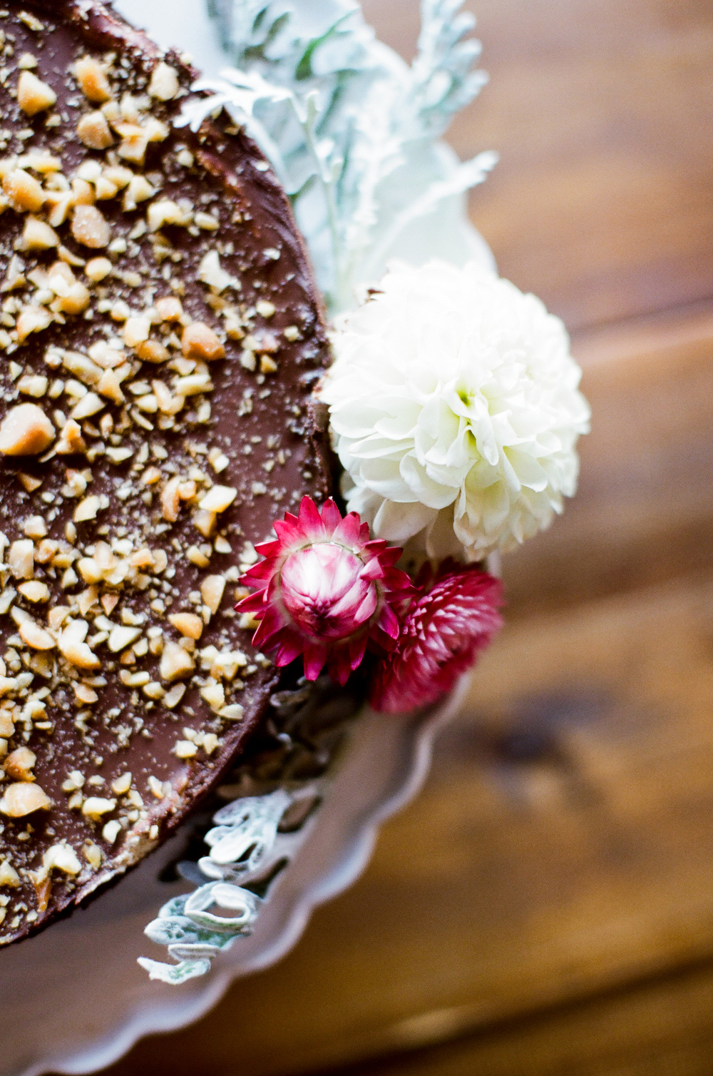 Chocolate Peanut Butter Pie  | Trillium Caterers