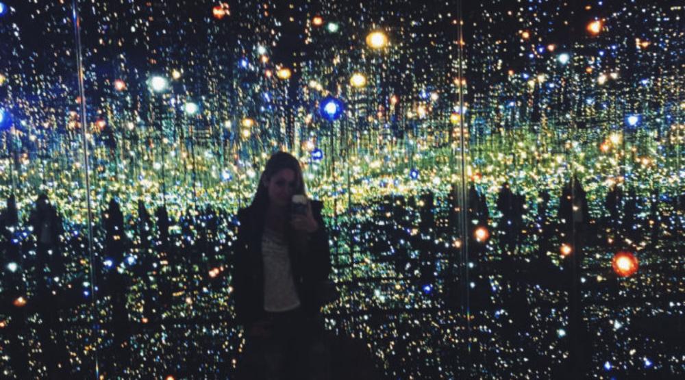 Infinity Mirrored Room by Kusama