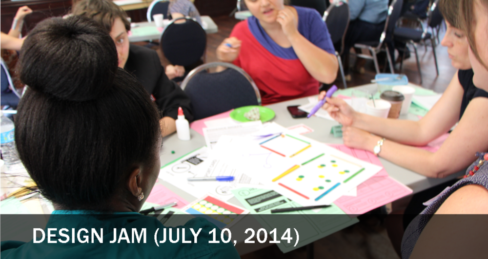 The purpose of the Design Jam was to collaboratively build out 'prototypes' of the desired systems change. In small groups, Service Collaborative members and Youth Advisory Group members rolled up their sleeves to generate ideas on possible outcomes, policies, and tools.