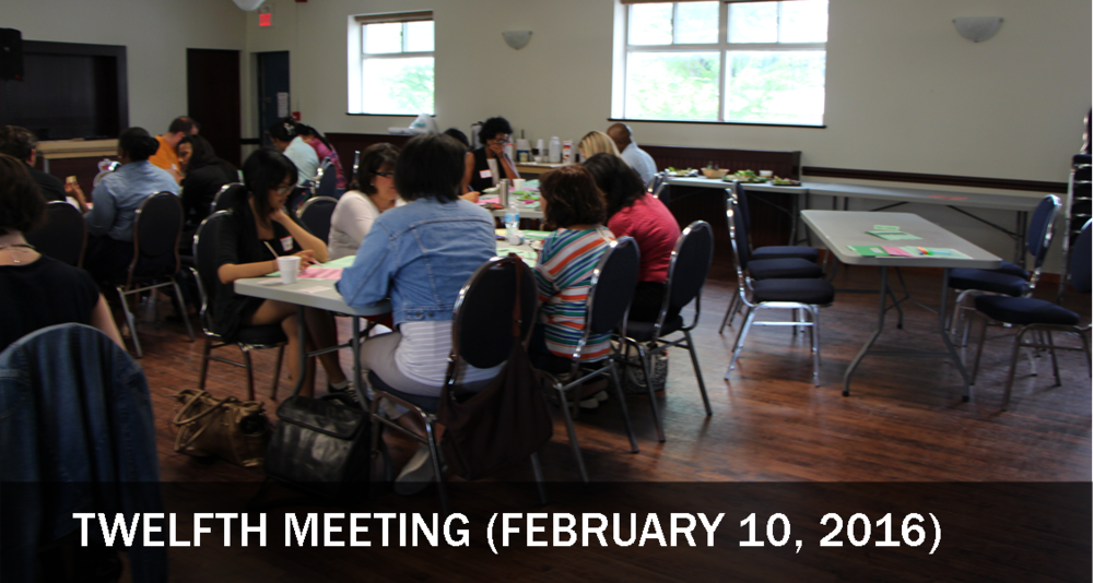 February 10, 2016 marked the final meeting of the Northwest Toronto Service Collaborative. The group came together to celebrate and acknowledge the work it had accomplished, and to discuss ways to stay involved with Peer Positive.