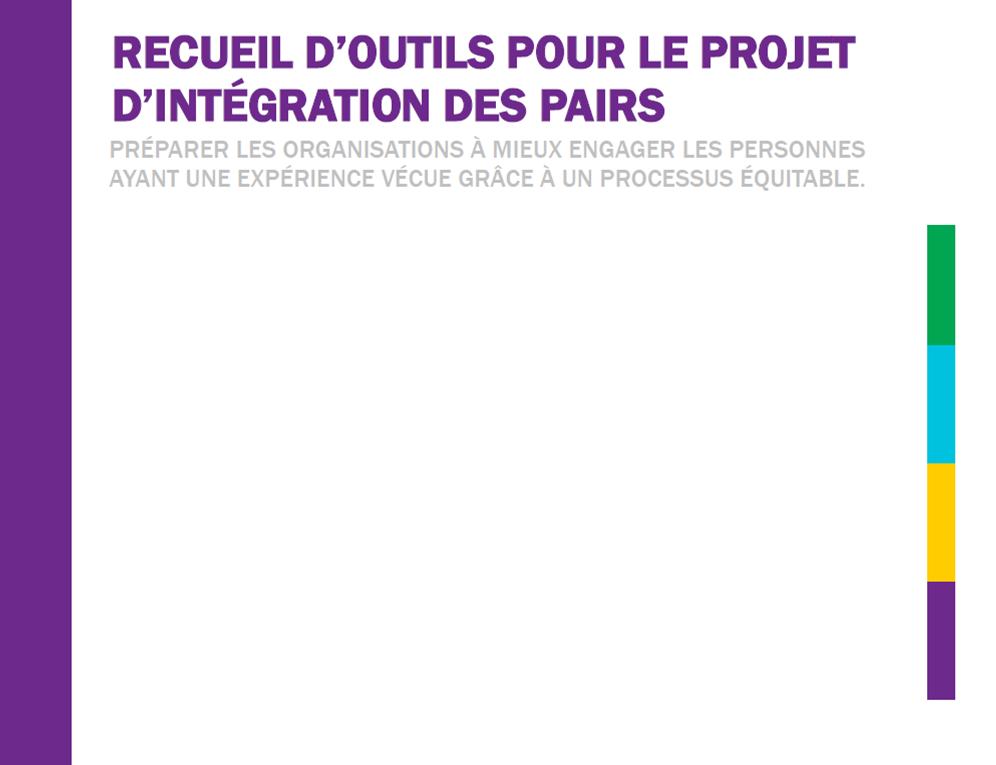 Receueil d'outils pour le project d'intégration des pairs