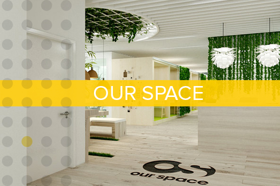 Our Space is a coworking brand that delivers wellness-centered environments around the globe.