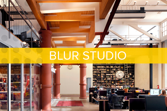 Blur Studio  is an established visual effects, animation and design company located in a protected historical building.