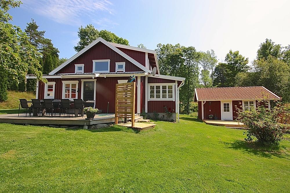Ett av våra hus. TORPET