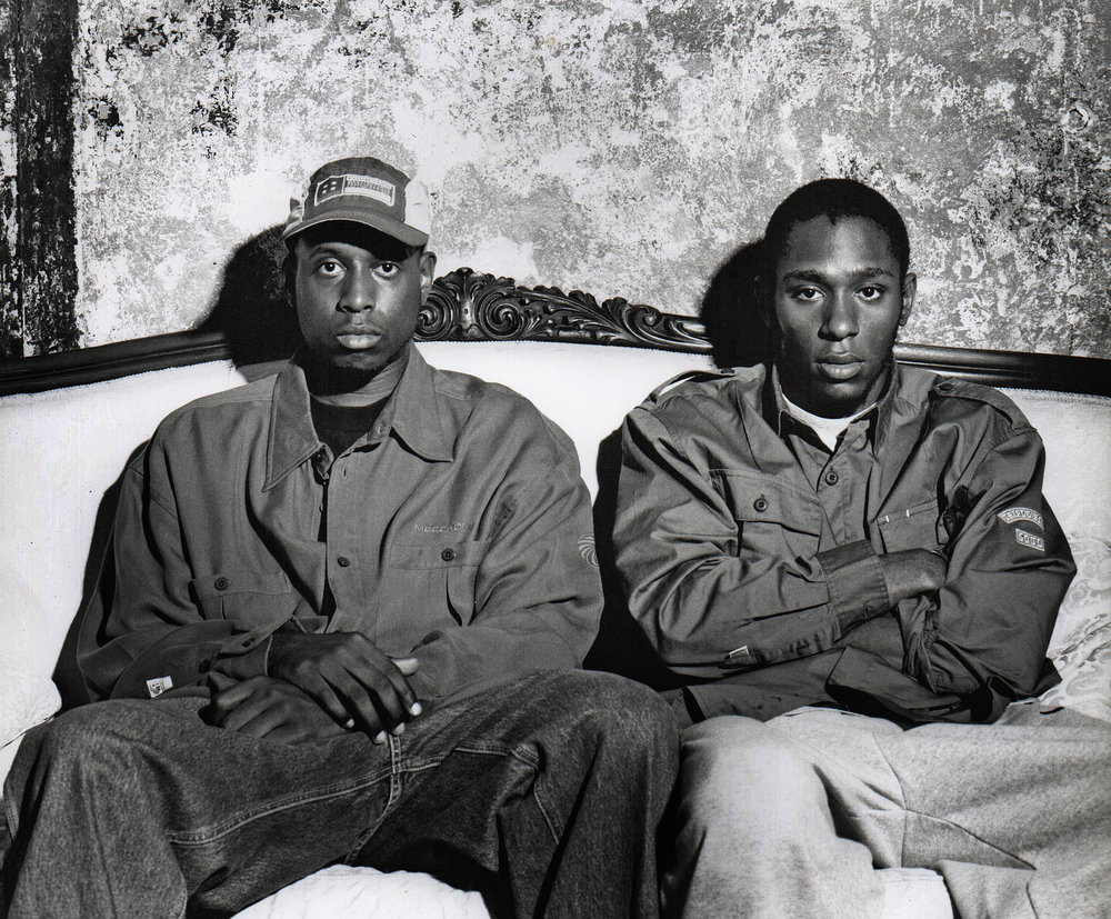 Talib Kweli & Yaslin Bey (Formerly known as Mos Def)