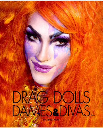 Drag Dolls, Dames & Divas Deux will be a continuation of the fun and fantasy with beautiful images of amazing queens photographed in more outrageous and unexpected locations than in the first book.