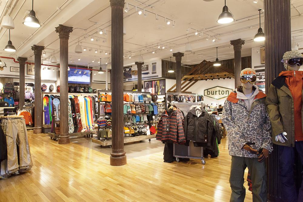 Burton Store Design