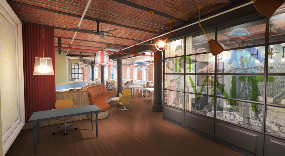 Tobin Parnes Design. NYC. Workplace Design. Conceptual Design.