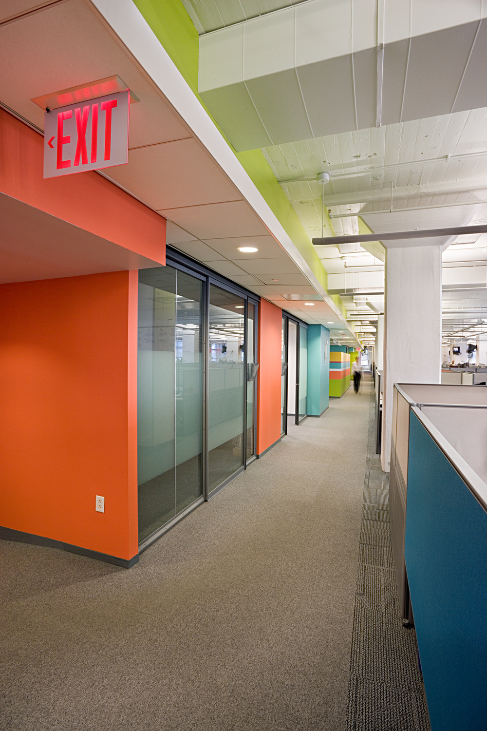 Tobin Parnes Design. NYC. Workplace Design. Getty Images Offices