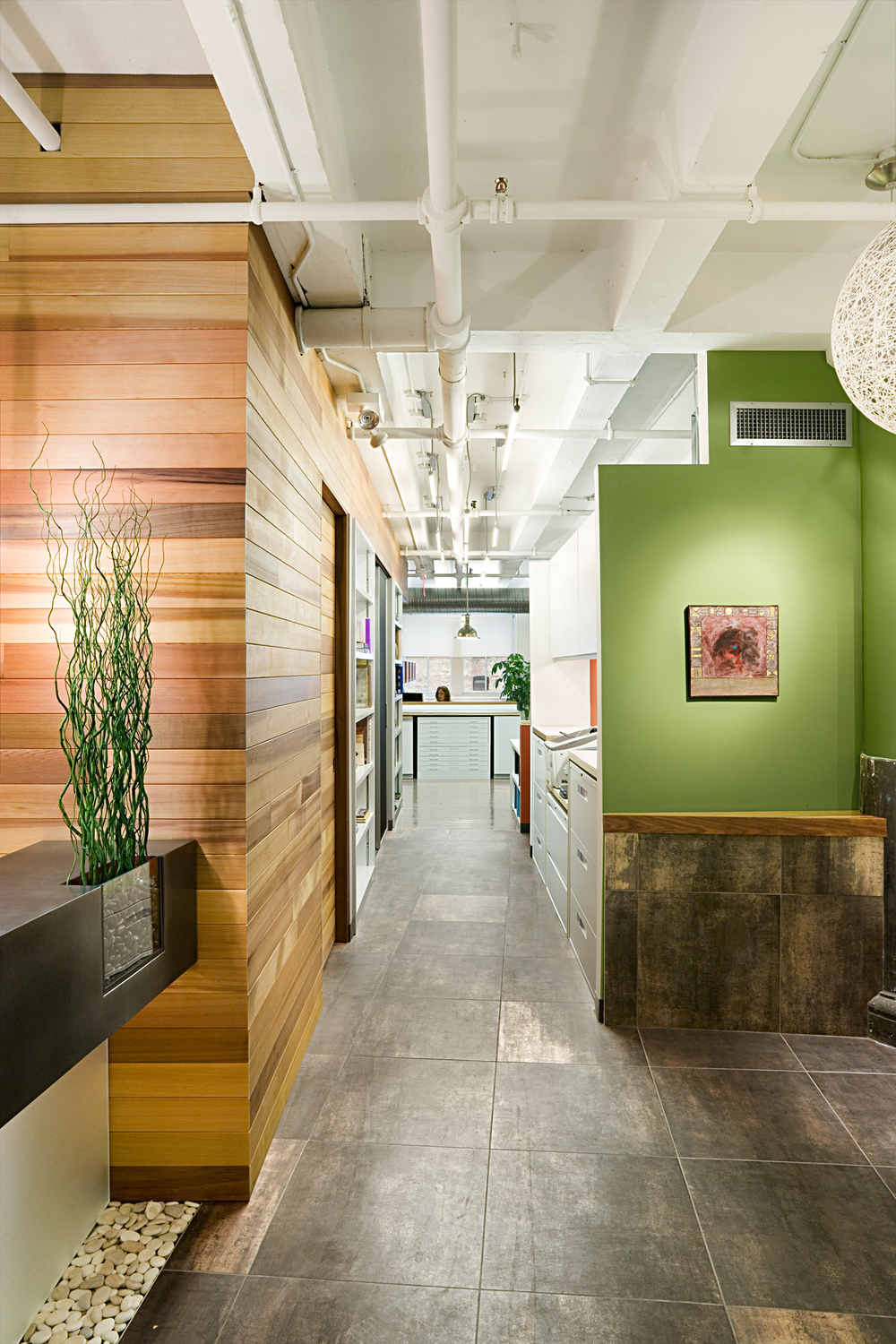 Tobin Parnes Design. NYC. Workplace Design. Architect Office Design