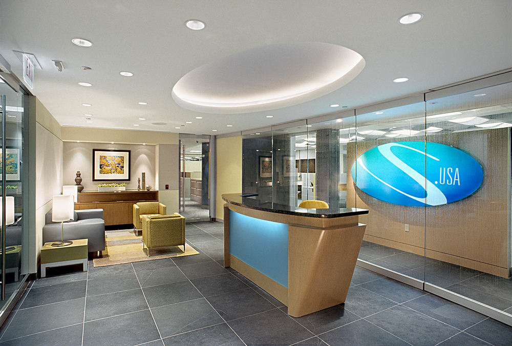 Tobin Parnes Design. Workplace Design. Office Design. Reception Design
