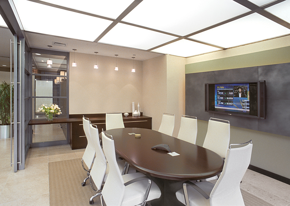 Tobin Parnes Design. Workplace Design. Office Design. Conference Room