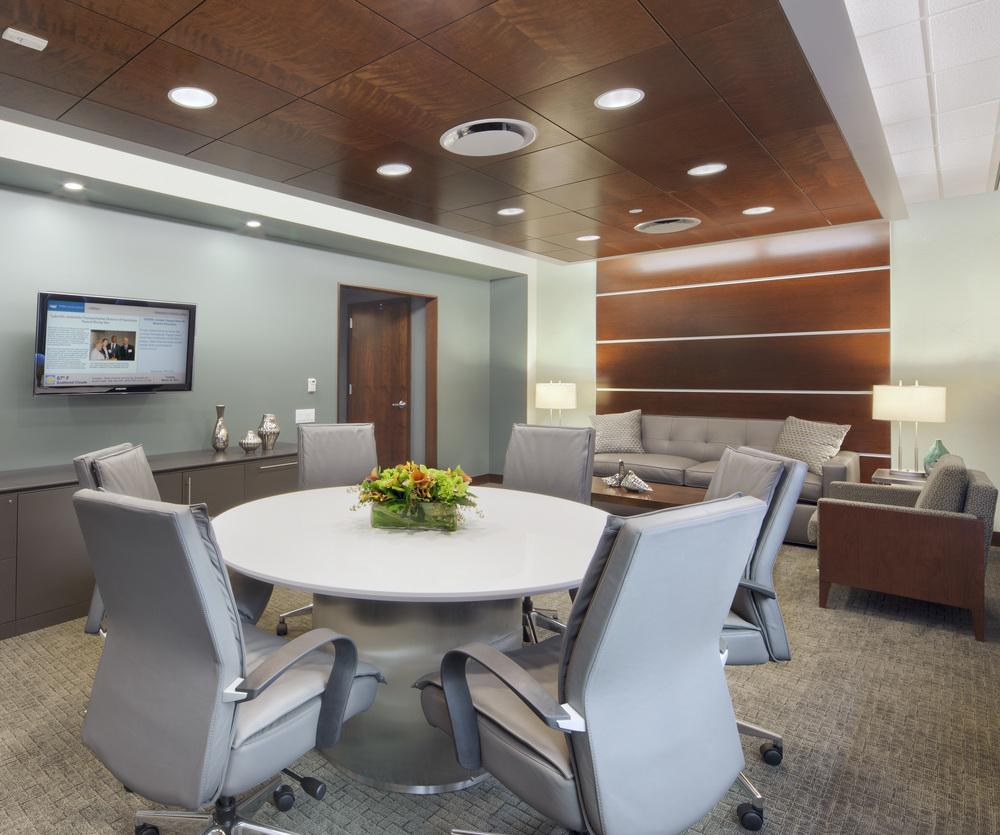 Parker Jewish Institute: 1 North. Tobin Parnes Design. NY. Healthcare Design. Private Office. Executive.