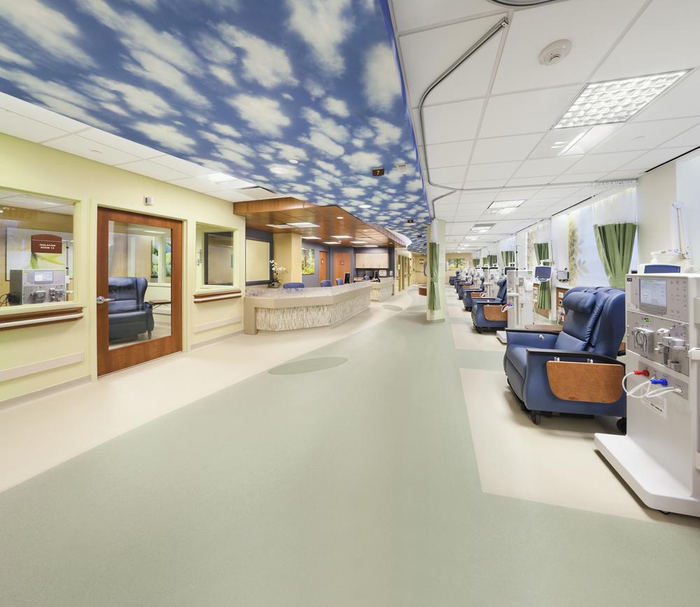Queens Long Island Renal Institute Design Interior Design Firm New York Tobin Parnes Design