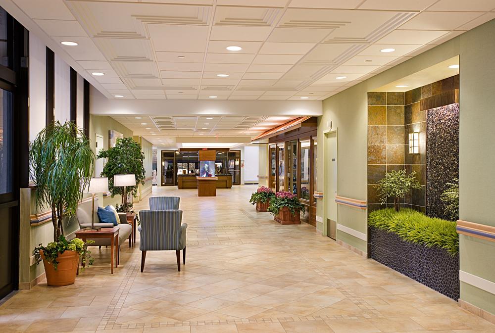 PJI: Lobby Reception & Family Lounge — Design - Interior Design Firm