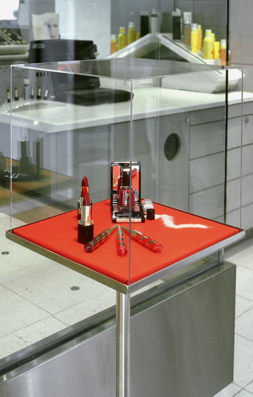 Lancome. Tobin Parnes Design. NY. Retail Design. Display Case.