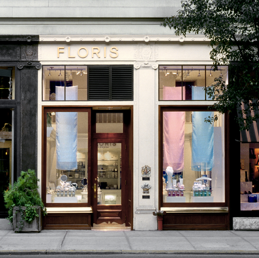 Floris of London. Tobin Parnes Design. Retail Design. Exterior.
