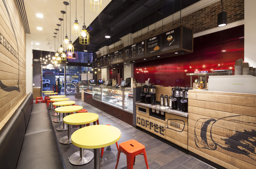 Tobin Parnes Design. Pie Face. NYC. Hospitality Design. Restaurant.