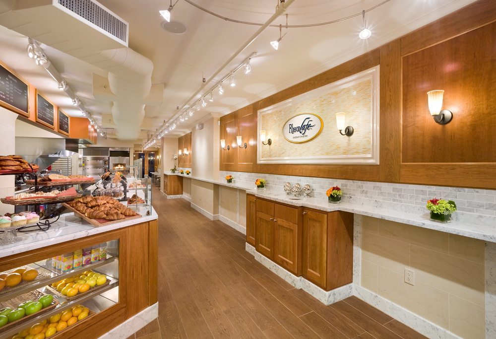 Tobin Parnes Design. Rheon Cafe. NYC. Hospitality Design. Restaurant. Cafe. Bakery. Millwork. Displays.
